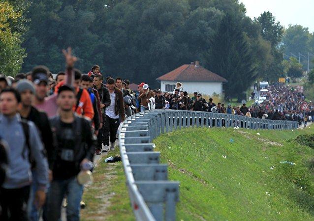La crise migratoire en cours