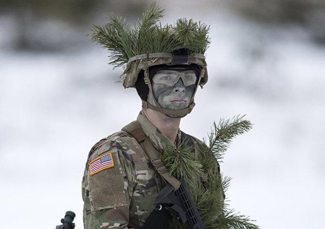 Un soldat US