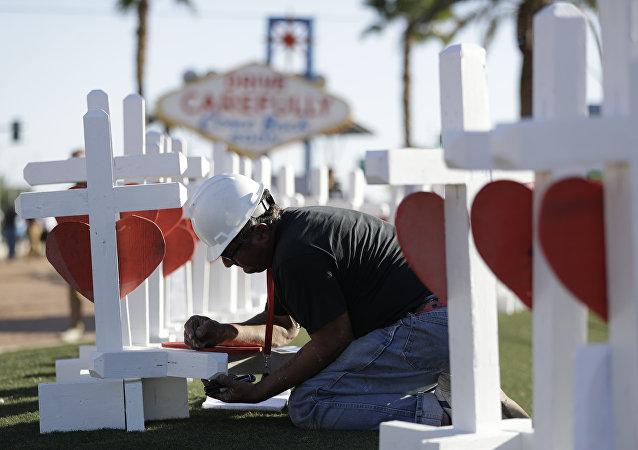 Greg Zanis à Las Vegas