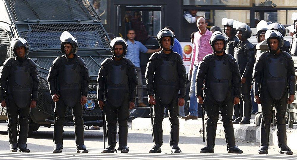 La police égyptienne