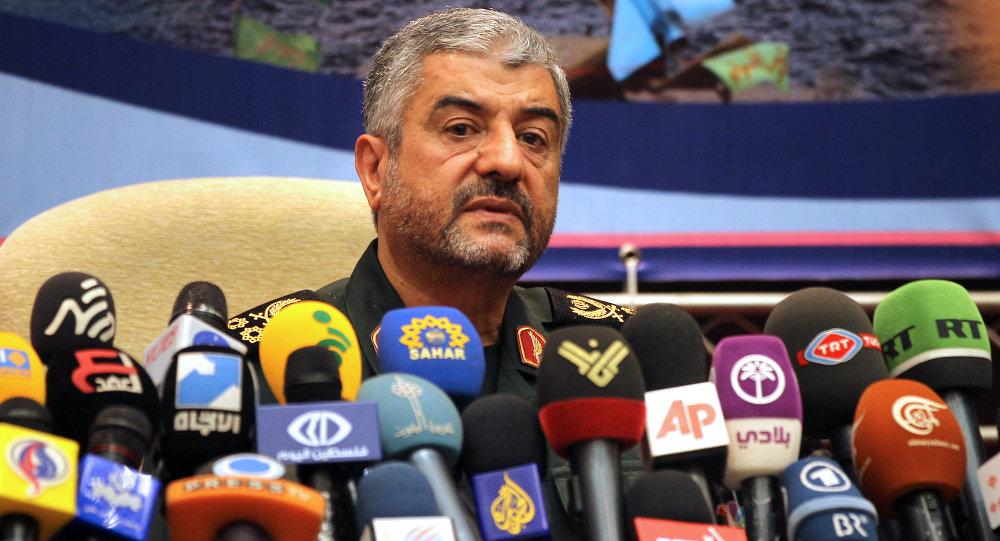 Le général Mohammad Ali Jafari, commandant des gardiens de la révolution iranienne