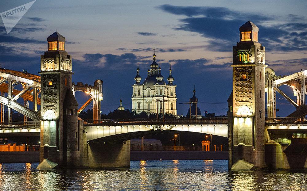 La capitale du nord de la Russie, Saint-Pétersbourg