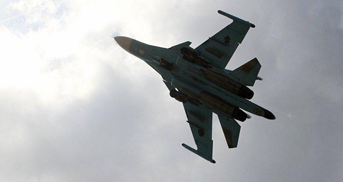 Un chasseur Su-34