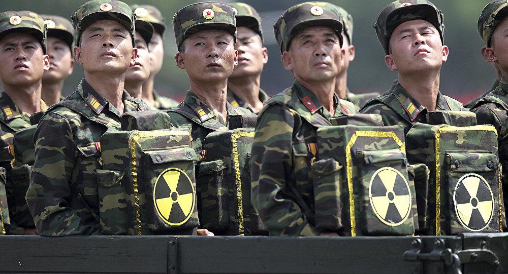 Soldats nord-coréens