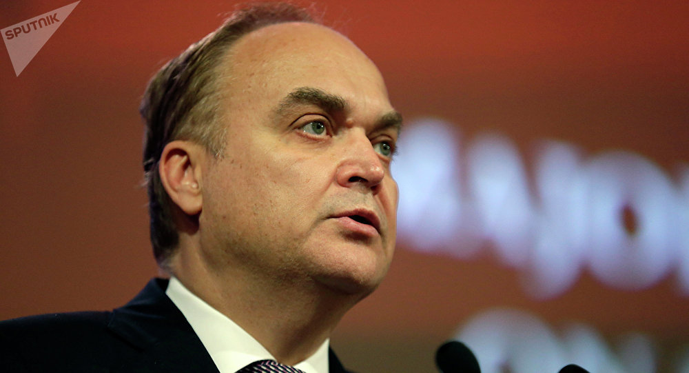Anatoli Antonov, ambassadeur russe aux Etats-Unis