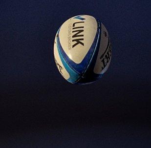 Ballon de rugby. Image d'illustration