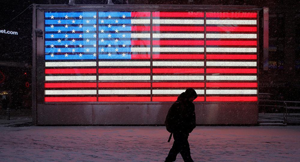Le drapeau des États-Unis
