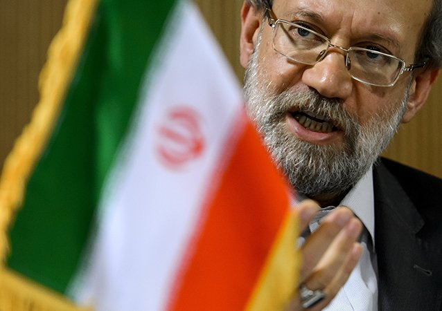 Le speakeur du Parlement iranien, Ali Larijani. Archive photo