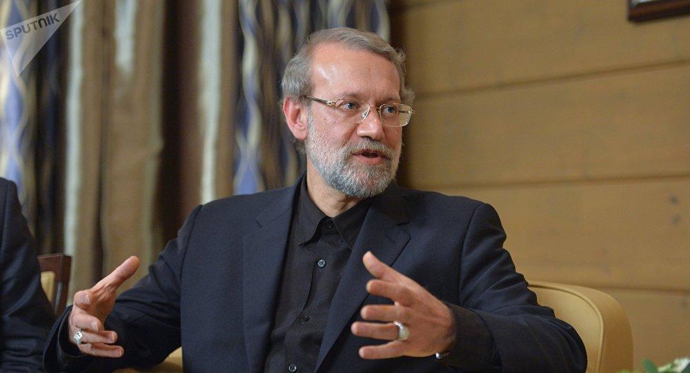 Ali Larijani, président du parlement iranien