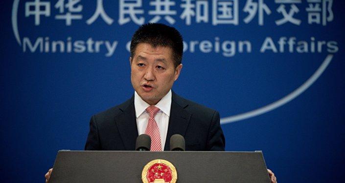 Lu Kang, porte-parole du ministère chinois des Affaires étrangères