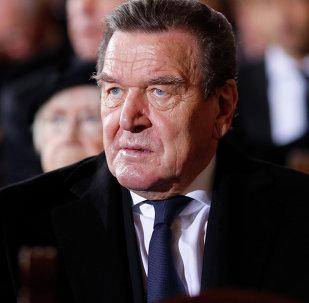 Ex-chancelier allemand Gerhard Schröder