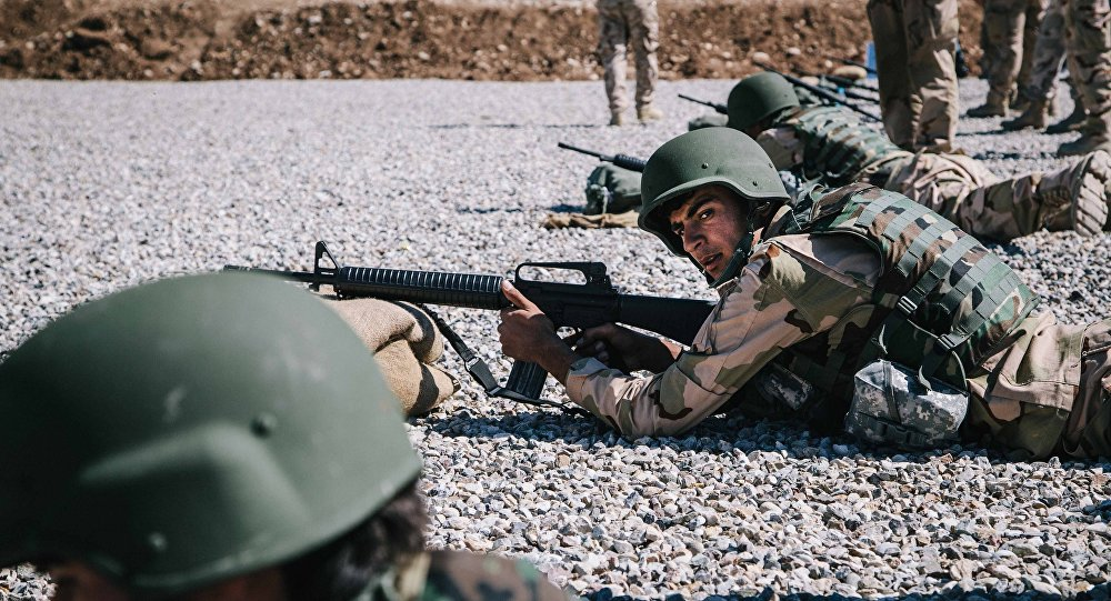 Miliciens kurdes