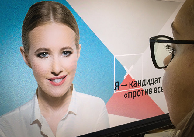 Ksénia Sobtchak est une candidature «contre tous»