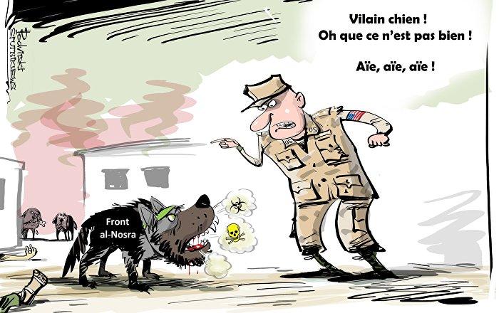 Les USA reconnaissent le recours aux armes chimiques par les terroristes à Idlib