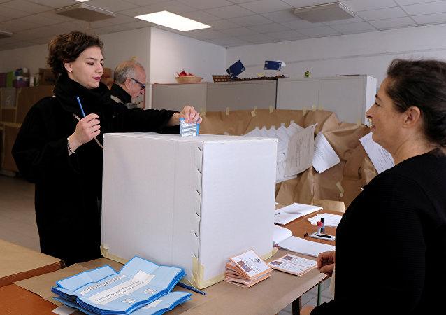 Vote en Vénétie