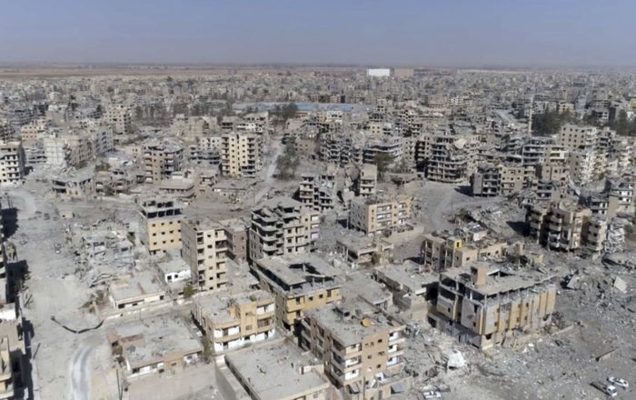 Raqqa en octobre 2017 (archive photo)