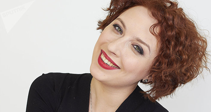 La journaliste russe de la radio Écho de Moscou, Tatiana Felguengaouer