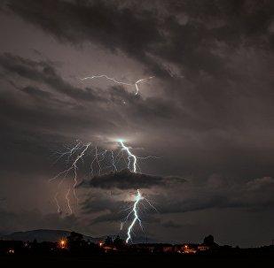orage (photo de démonstration)