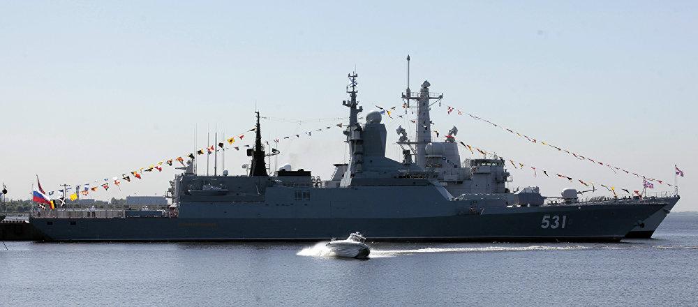 La corvette russe Soobrazitelny