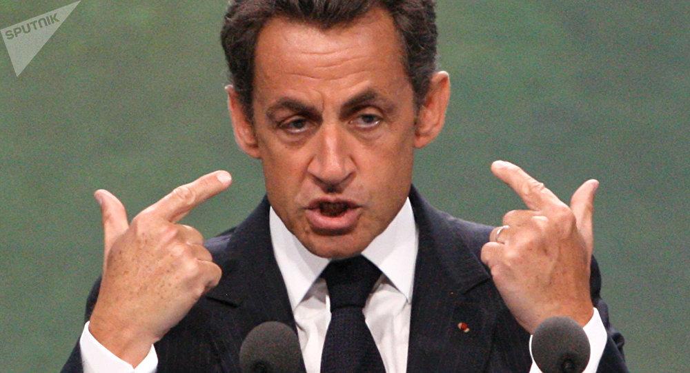Le président français Nicolas Sarkozy