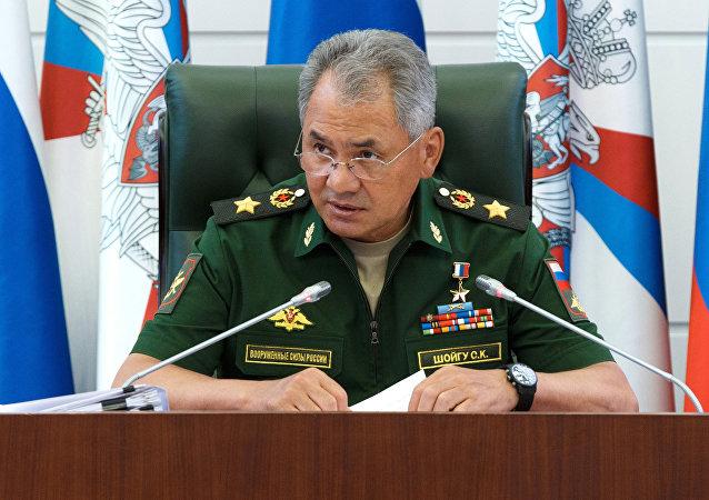 Ministre russe de la Défense Sergueï Choïgou
