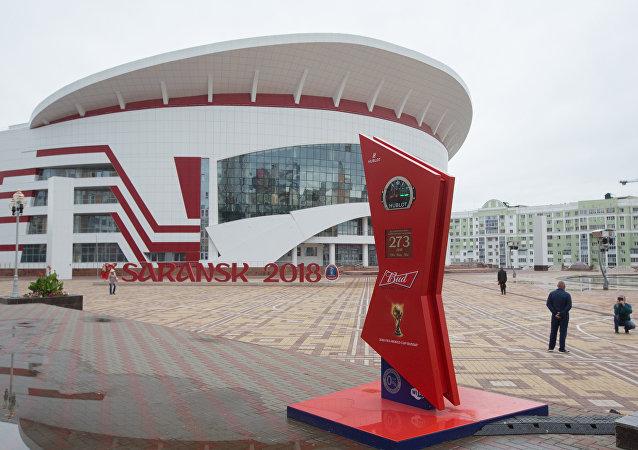 Saransk en prévision du Mondial 2018