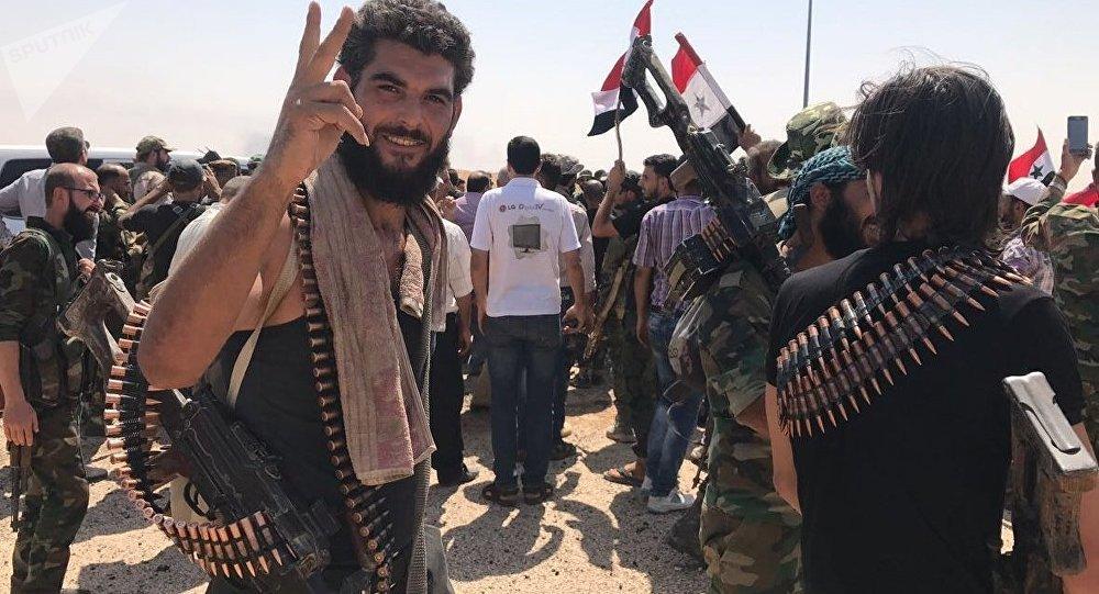 Les Forces armées syriennes dans la province de Deir ez-Zor
