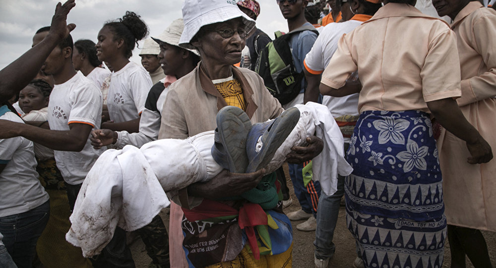 Le «famadihana» à Madagascar