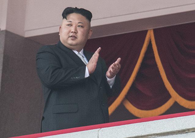 Kim Jong-un, dirigeant de la Corée du Nord