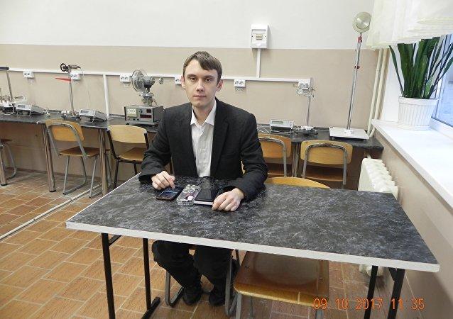 Dmitri Sevastianov, étudiant au MEPhI (Institut d'ingénierie physique de Moscou)
