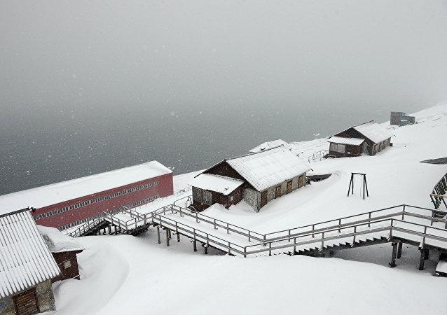 La ville norvégienne de Barentsburg