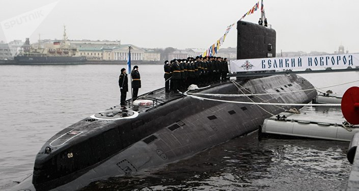 Le sous-marin Veliki Novgorod