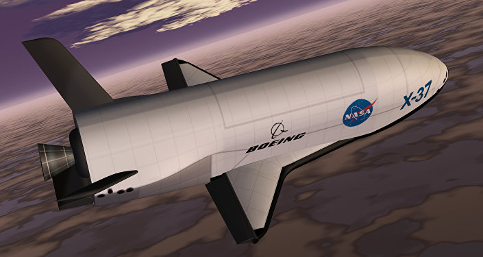 Boeing X-37. Vue d'artiste.