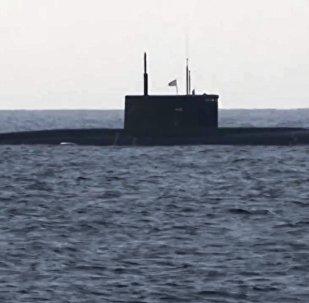 Le sous-marin russe Kolpino