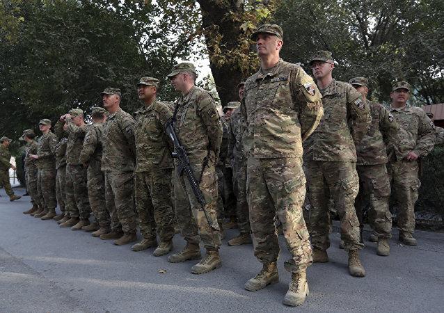Militaires des USA et de l'Otan en Afghanistan