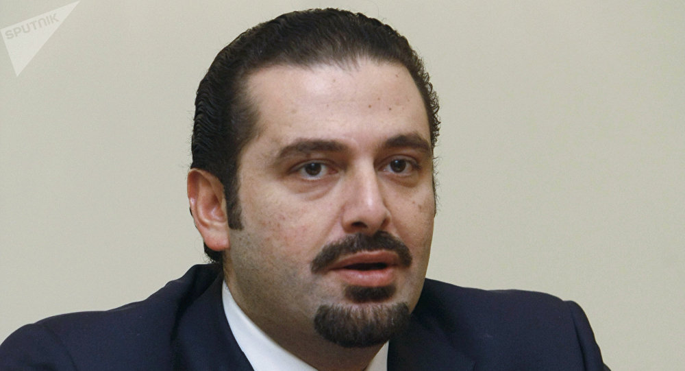 Le premier ministre libanais sortant, Saad Hariri