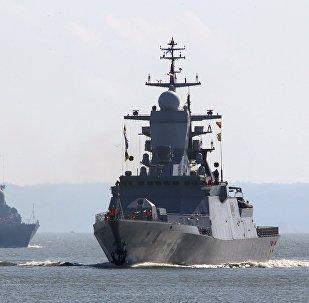 Des navires de la Flotte russe de la mer Baltique