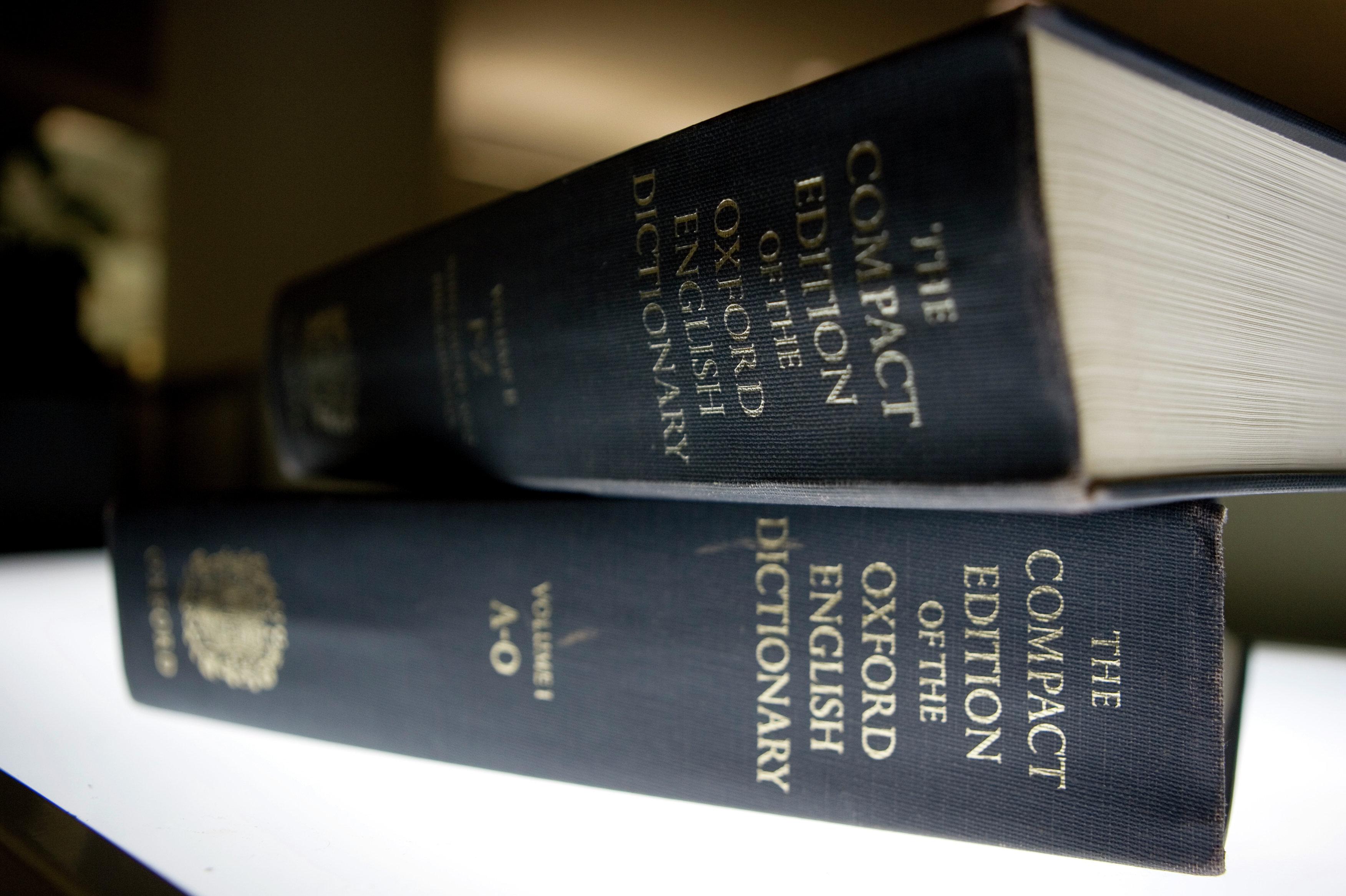 Dictionnaire d'Oxford
