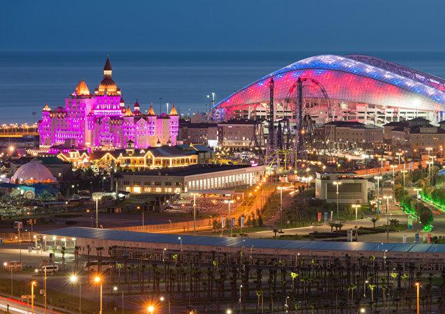 Le stade Fisht de Sochi