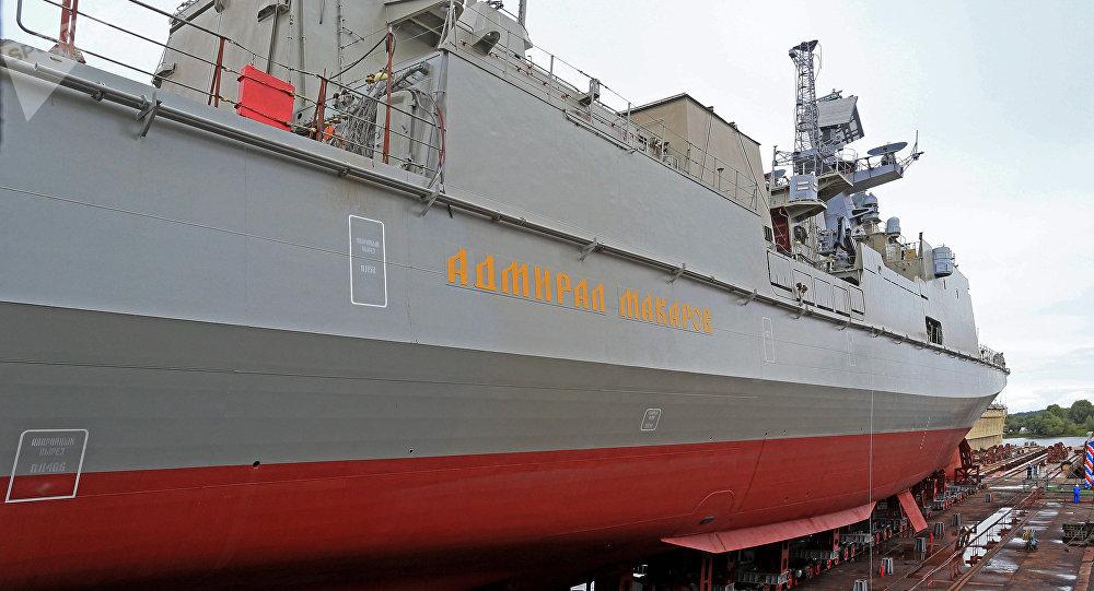 La frégate Amiral Makarov