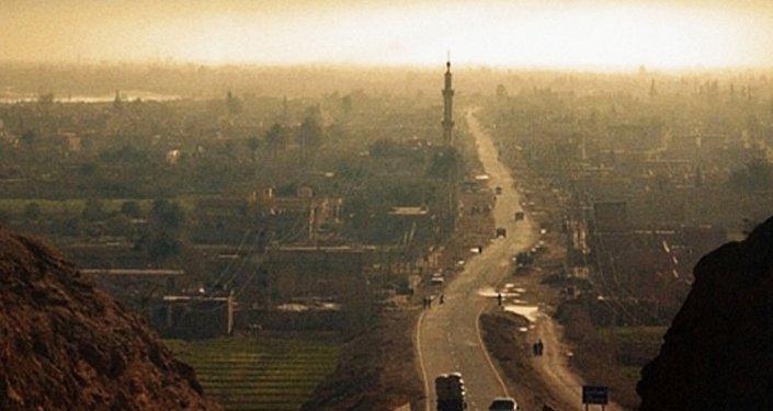 La ville d'Abou Kamal