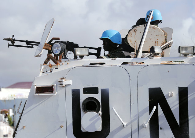UN peacekeepers in Somalia