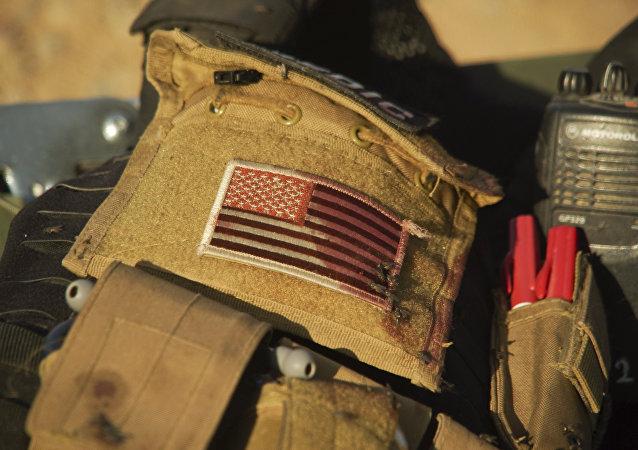 Veste d'un docteur militaire américain en Irak
