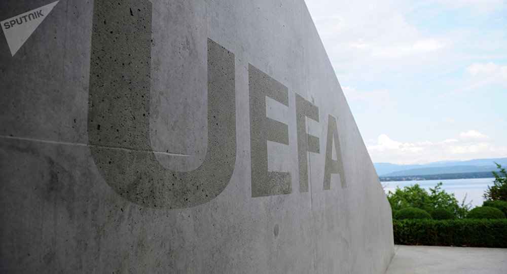 A four-way meeting between Football Union of Russia, Football Federation of Ukraine, UEFA and FIFA was held at UEFA headquarters in Nyon, Switzerland