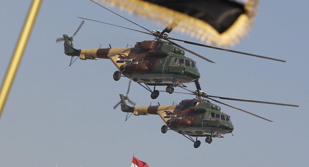 Mi-17, Irak