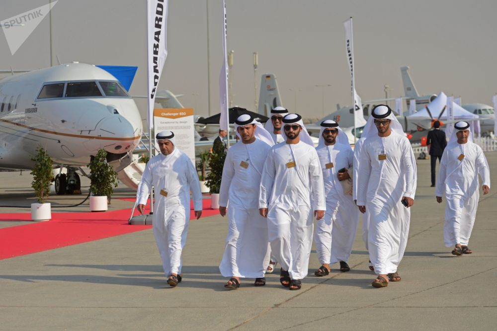Le Salon aéronautique international Dubai Airshow 2017