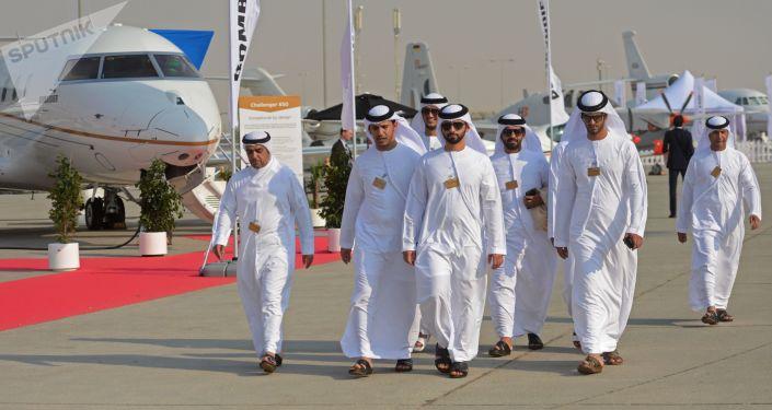 Le Salon aéronautique international Dubai Airshow 2017