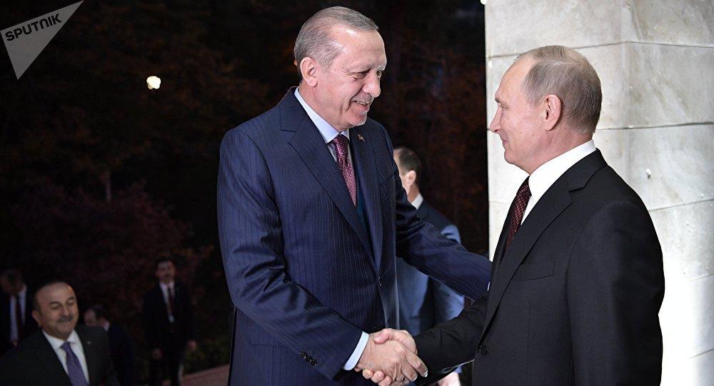 Recep Tayyip Erdogan et Vladimir Poutine