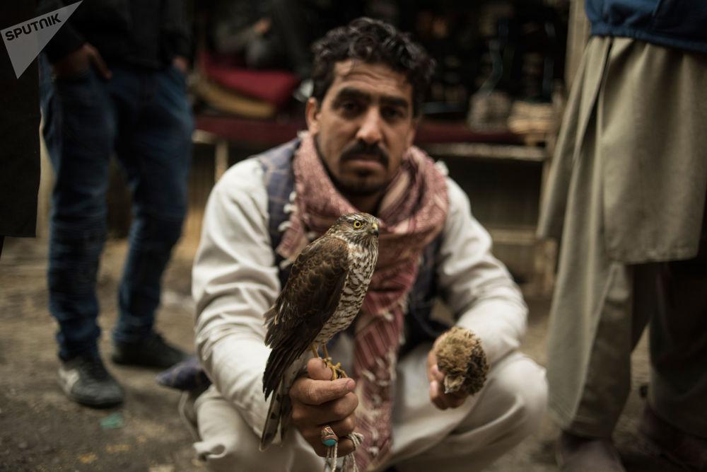 Un marché de Kaboul.