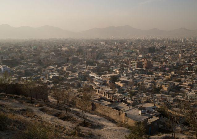 Une vue de Kaboul